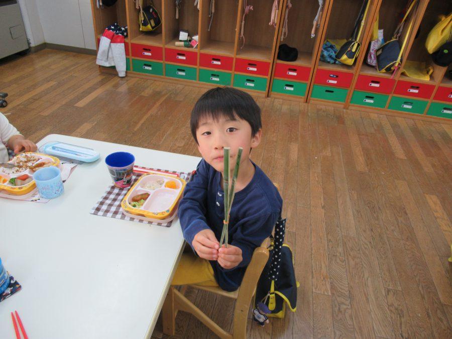 マイお箸作っています!